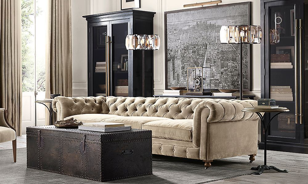 20 Amazing Living Rooms Inspired By Restoration Hardware Restoration Hardware Restoration And