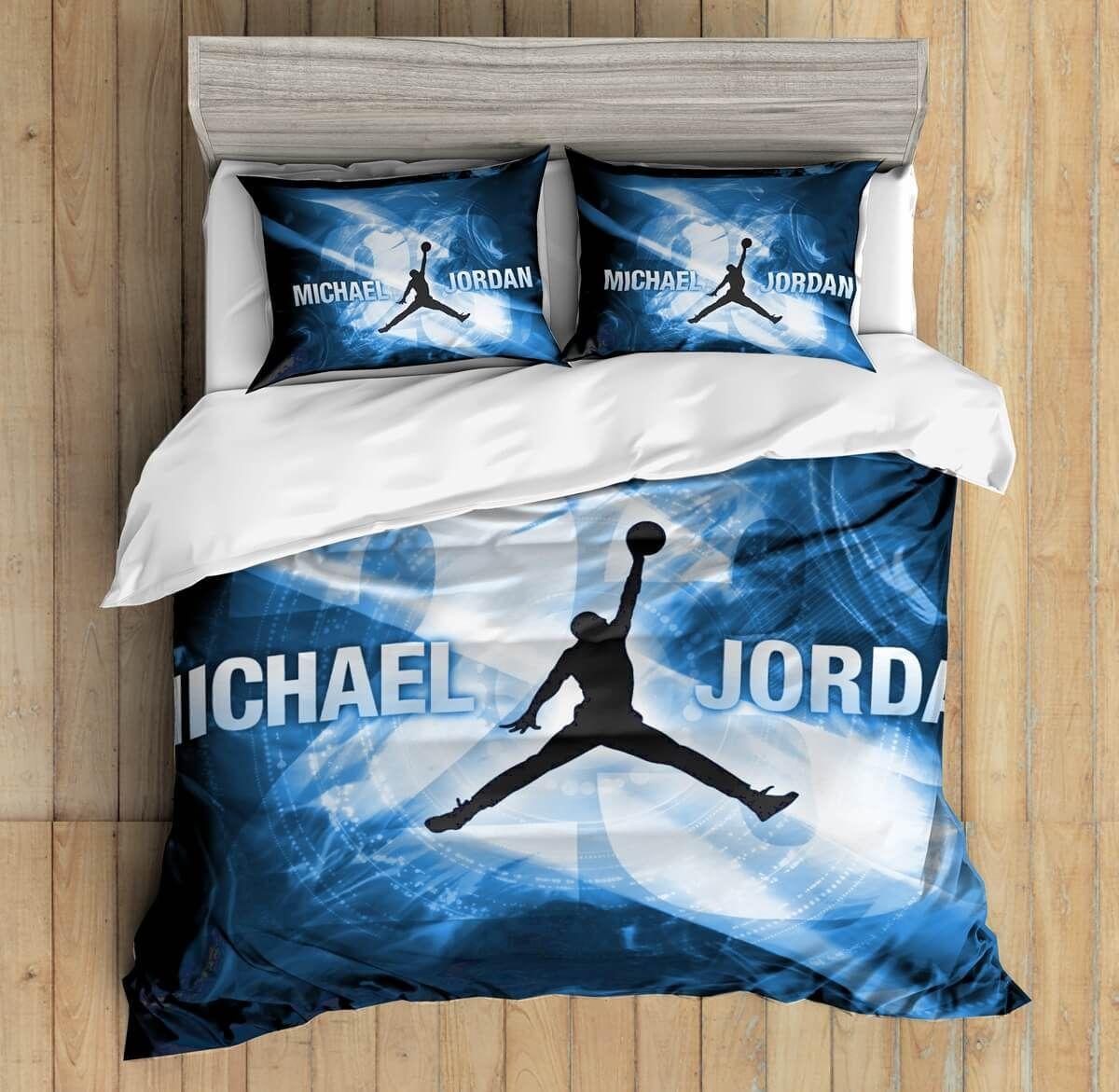 3D Custom Michael Jordan Bedding Set Duvet Cover Set