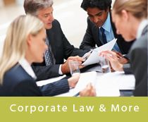 Incorporation  NUANS Searches  Annual Returns and other filings  General Management of Minute Books  Partnership Agreements  Joint Ventures  Unanimous Shareholders Agreements  Personal Property Registrations  Land Title Searches  Commissioner for Oaths