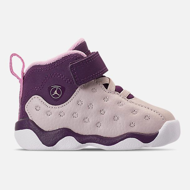 33472176b97afa Right view of Girls  Toddler Jordan Jumpman Team II Basketball Shoes