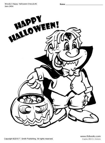 Snapshot Image Of Woodyu0027s Happy Halloween Coloring Page 1