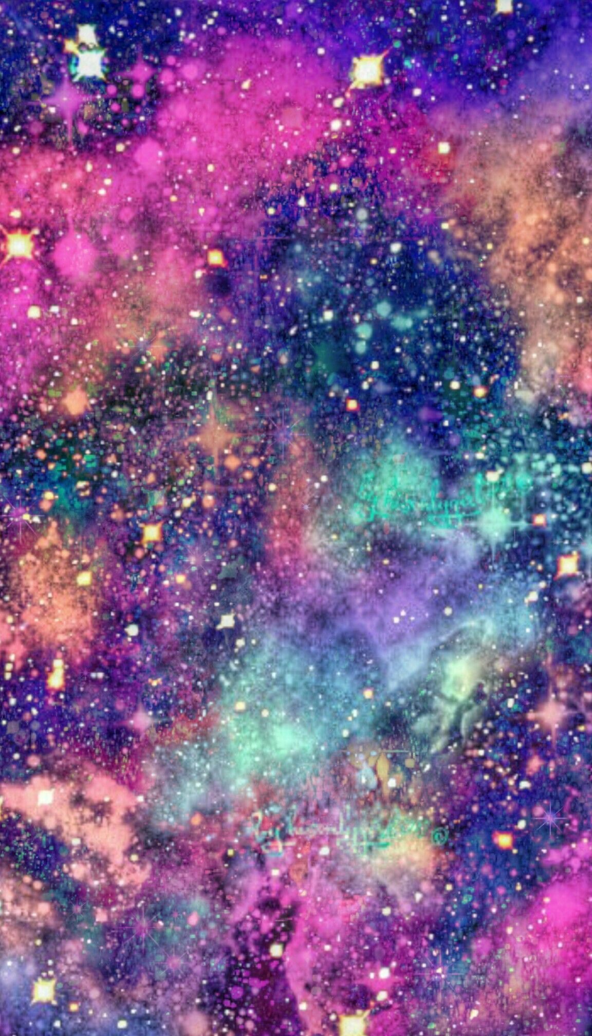 galaxy wallpaper I created for CocoPPa Achtergronden