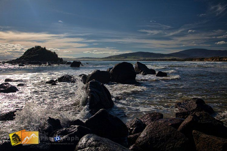 On the beach at Monkey Island. South Island, New Zealand. http://www.thephotograph.co.nz/photo-galleries/south-island/