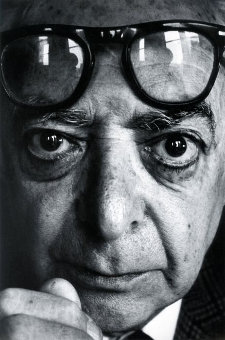 "Brassaï, Paris, ca 1969 -by Arnold Crane © Arnold Crane Henry Miller called him ""The eye of Paris"" - Gyula Halász, better known as Brassaï (photographed by Arnold Crane). Arnold Crane was interested in the person behind the camera and photographed people like Man Ray, Ansel Adams, Paul Strand, Edward Steichen, or Walker Evans."