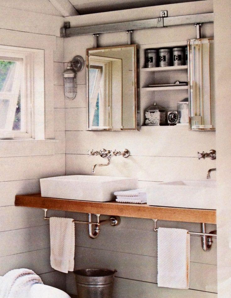 barn door medicine cabinet - Google Search | Bathroom | Pinterest ...