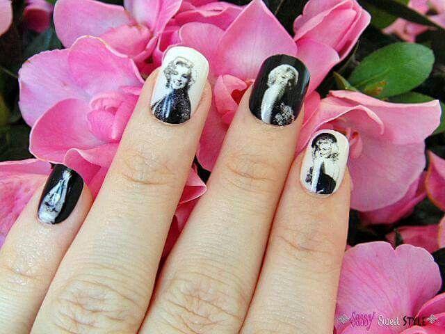 Marilyn Monroe nails   Marilyn Monroe   Pinterest