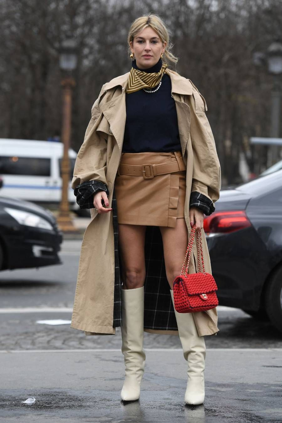5 Trends Not to Wear With Ankle Boots White knee high