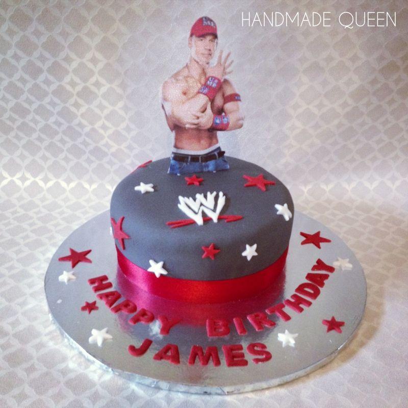 #WWE John Cena Cake #wrestling #johncena