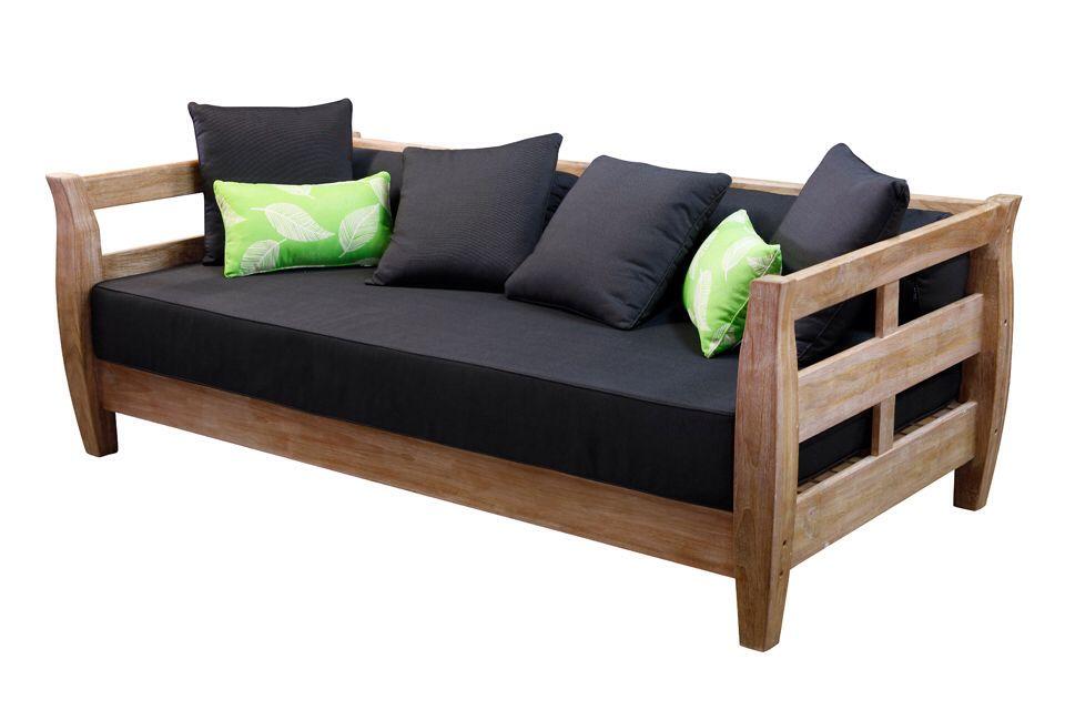 teak outdoor daybed wood outdoor teak outdoor daybed from segals home pinterest outdoor