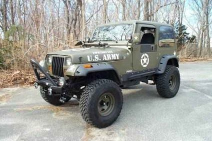 8 500 1994 Jeep Wrangler Yj Military Edition Must See