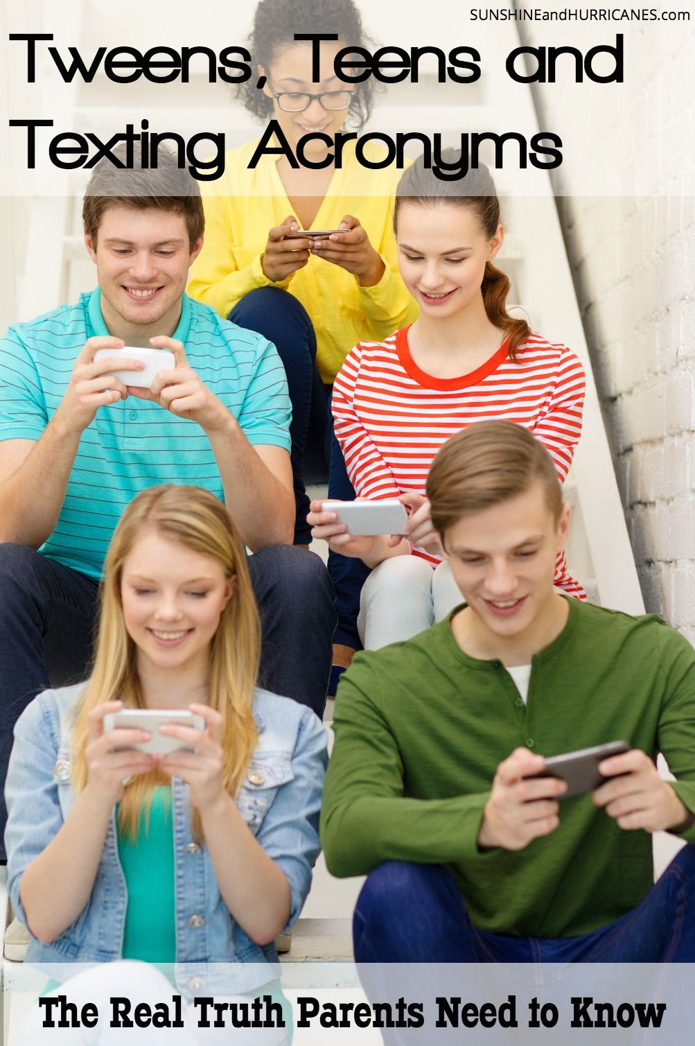 The Real Truth Parents Need to Know About Tweens, Teens, and Texting ...