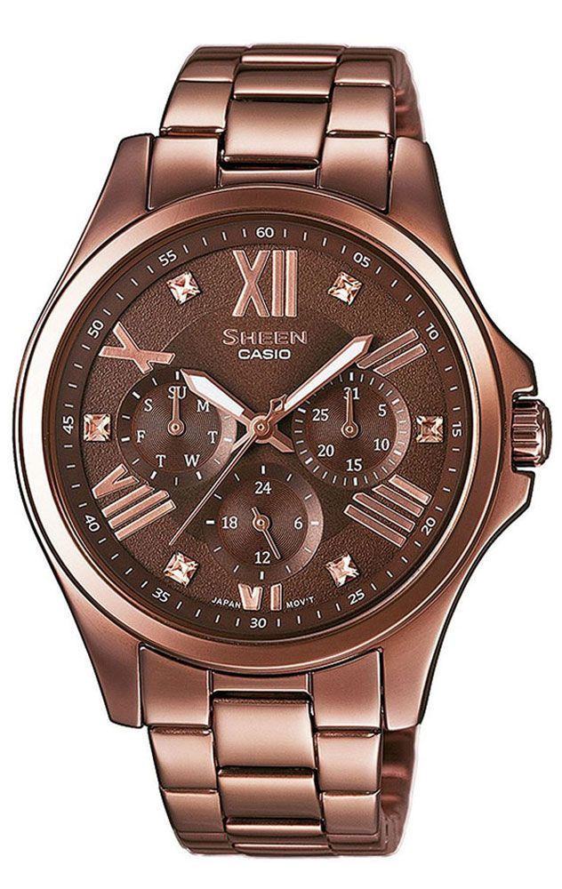 f49a9d339d38 Reloj Casio Sheen mujer SHE-3806BR-5AUER