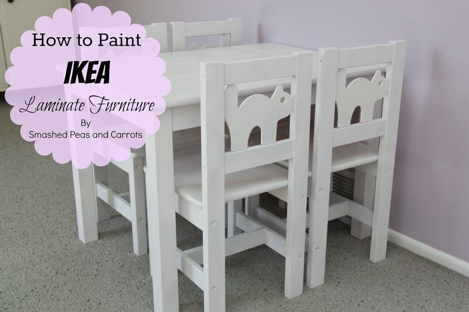 How To Paint Ikea Laminate Furniture Useful Household