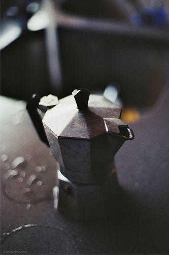 moka (espresso) pot #coffee