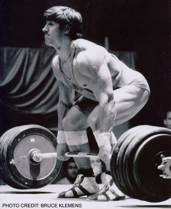 Dave Rigert, the greatest ever middleweight Olympic lifter ...