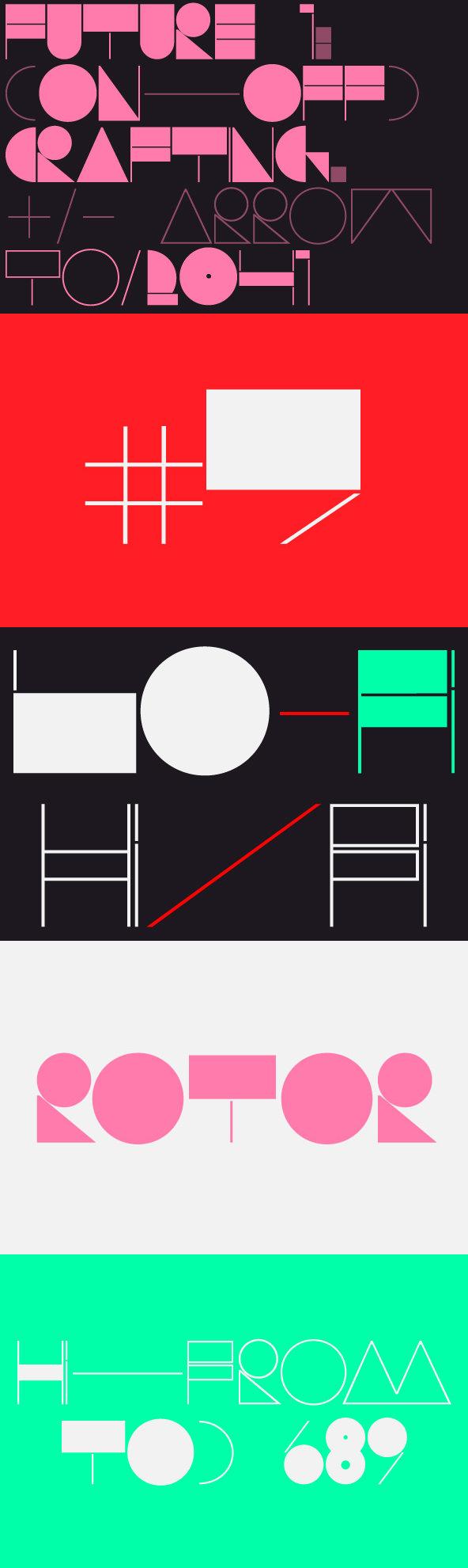 ROTOR - Desktop Font & WebFont - YouWorkForThem