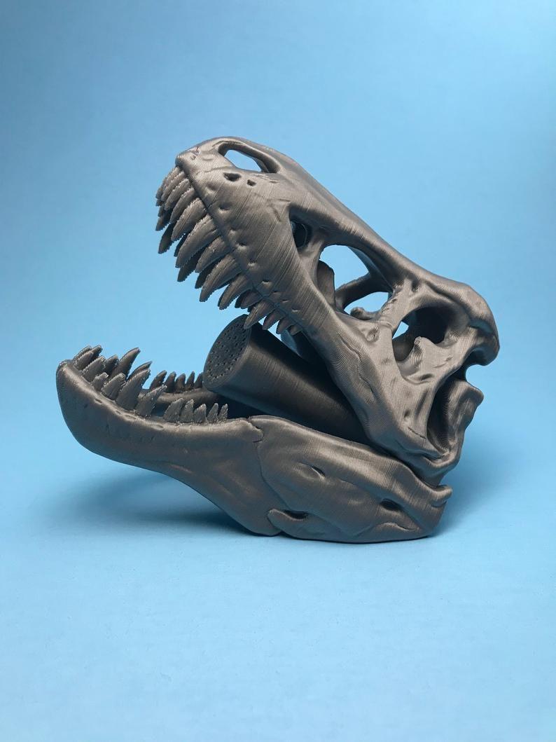 T Rex Skeletal Shower Head Etsy In 2020 Shower Heads Shower Rex