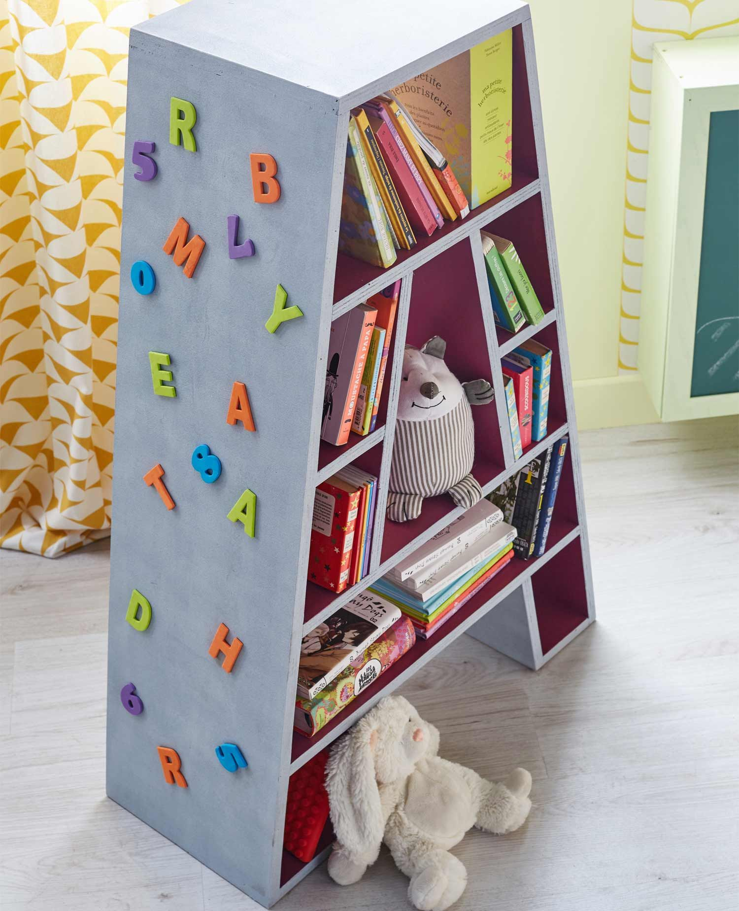 Cr Er Une Biblioth Que En A Diy Enfants Et Ados Pinterest  # Creer Une Bibliotheque