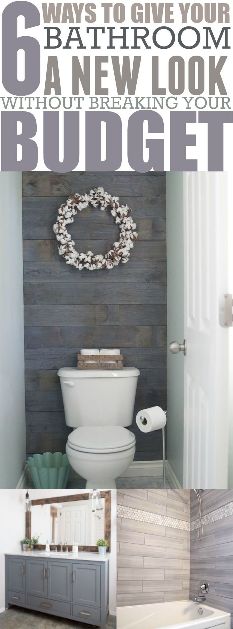 Photo of 6 Budget Friendly Bathroom Makeover Projects – Forever Free By Any Means