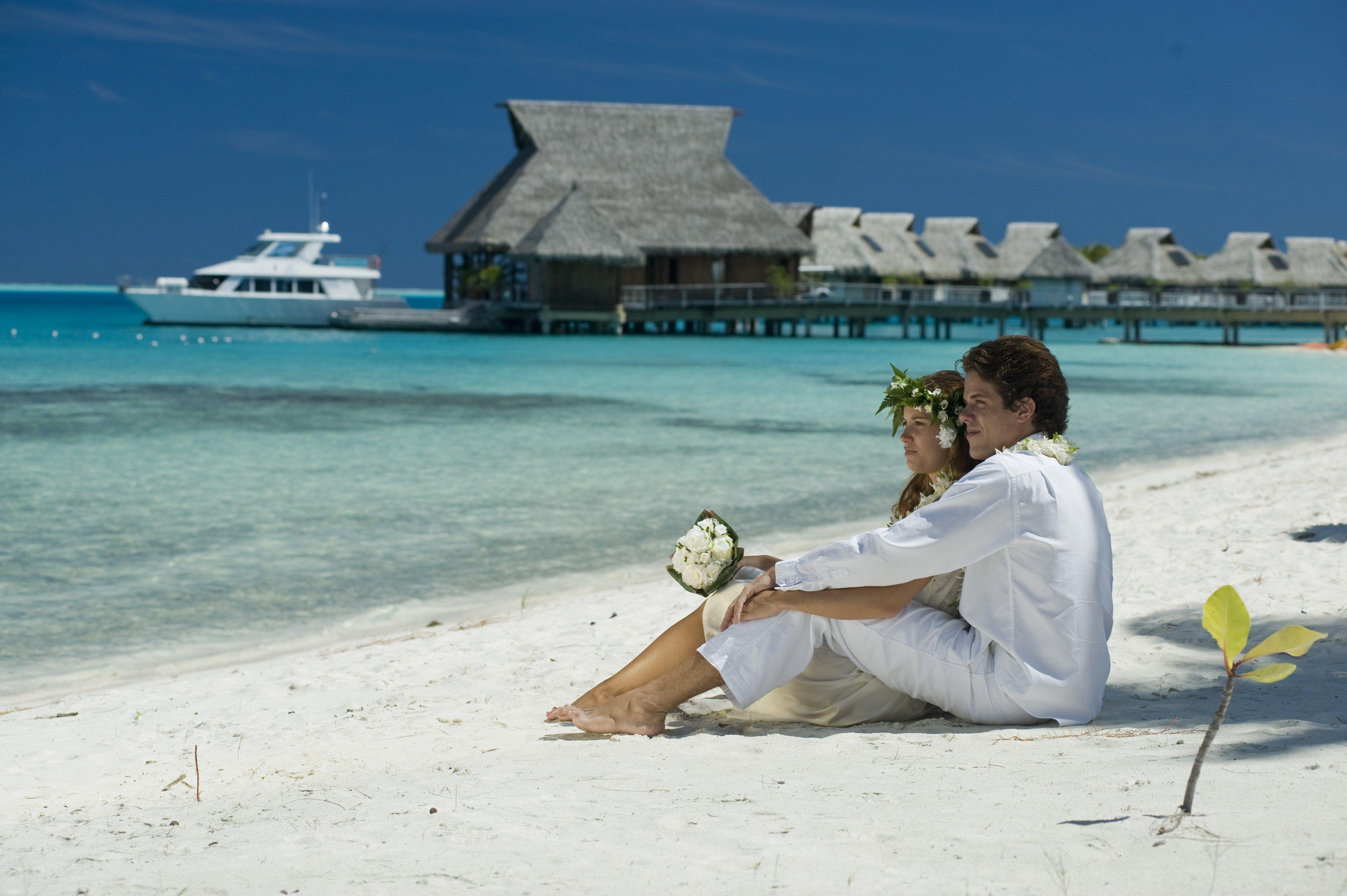 Bryllupsreiser på Hilton Bora Bora Nui Resort and Spa