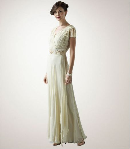 1940s Glam on the Cheap: Scala Wedding Gown From Dillards | Cheap ...