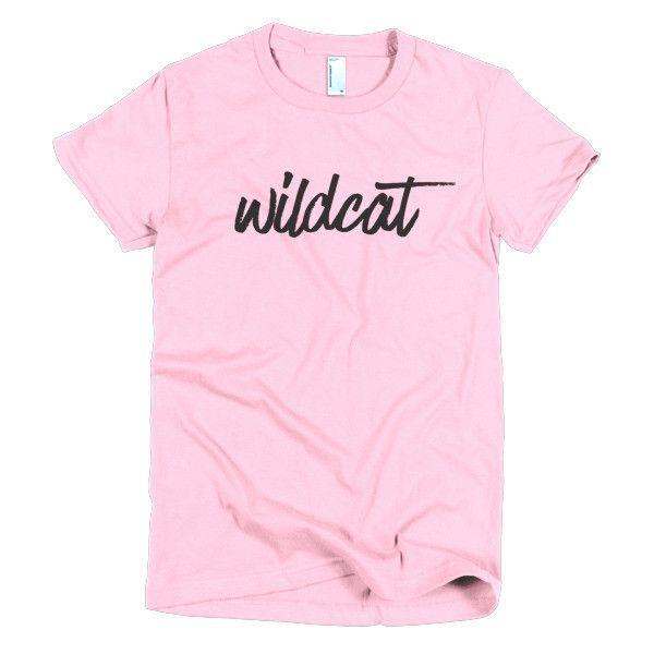 Wildcat - women's t-shirt - black print