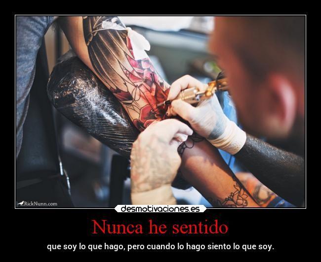 Carteles Arte Tatuajes Tatuador Quien Soy Lossupervivientes