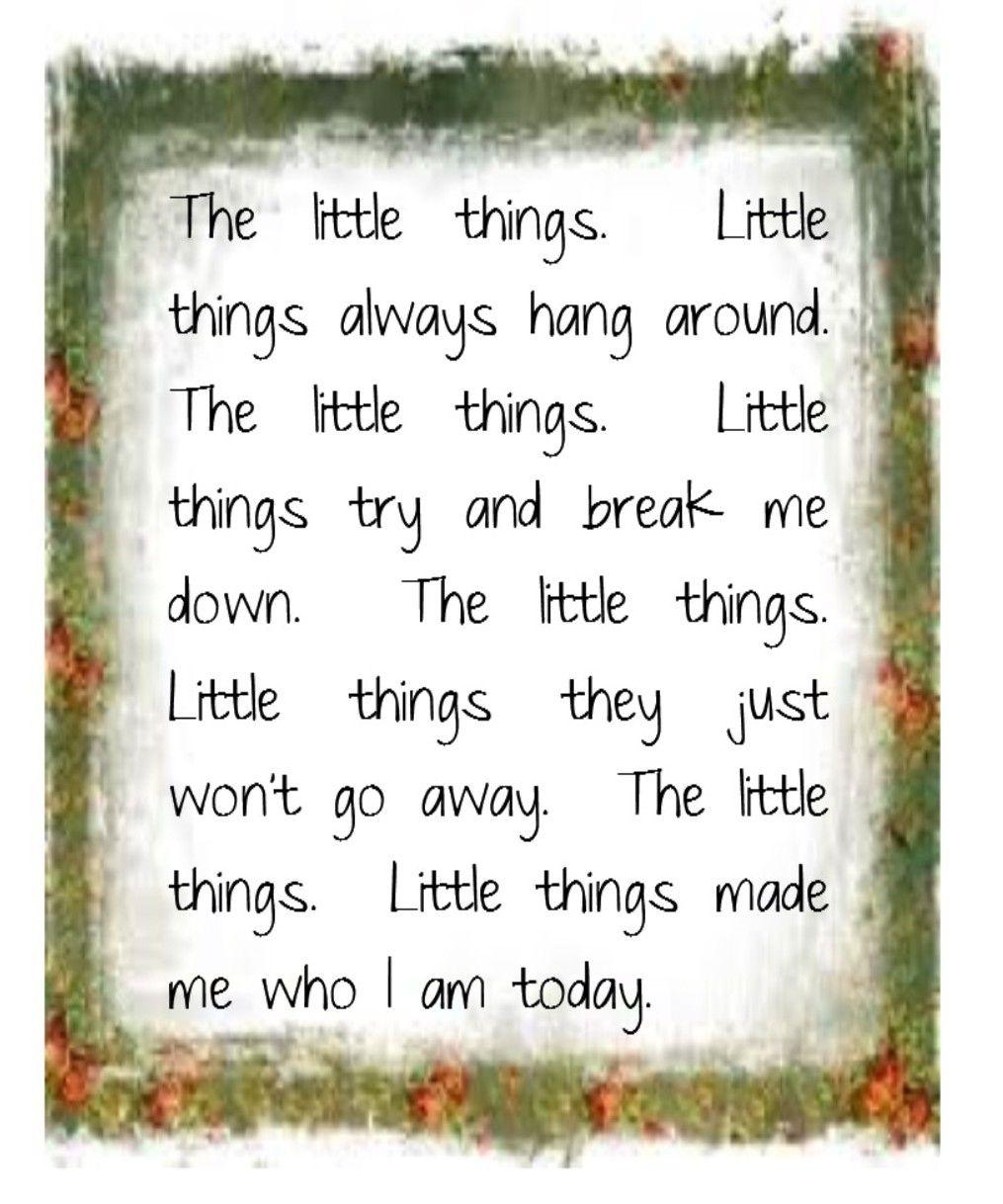 Good Charlotte - Little Things