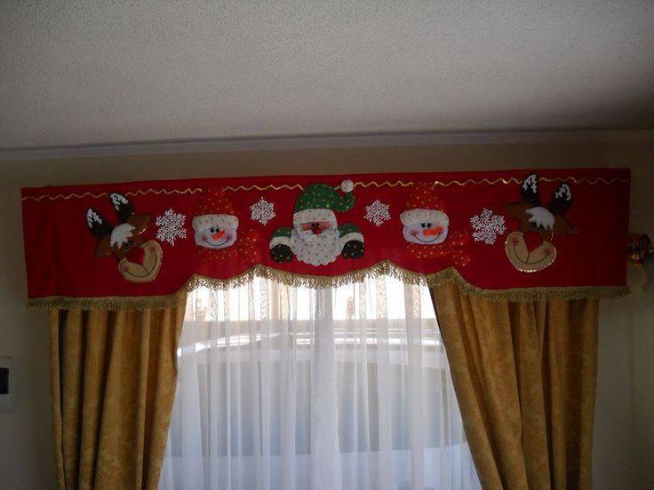 Resultado de imagen para cortinas navideñas con luces cenenfas