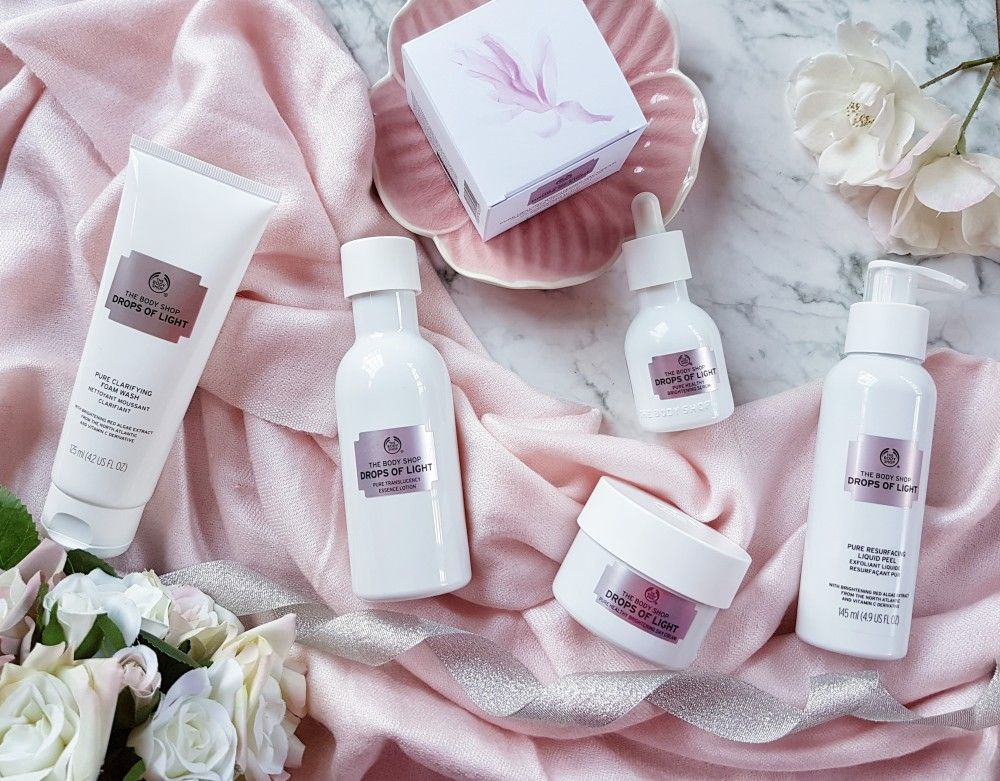 The Body Shop Drops of Light Review Body shop skincare