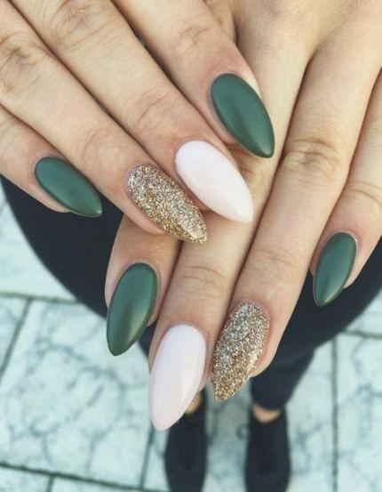 Winter Nails Acrylic