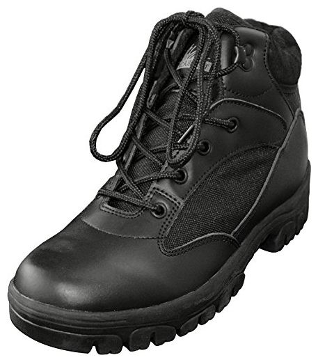 McAllister Semi Cut Boots in 2 verschiedenen Farben wählbar Farbe Schwarz Größe 44 loGdiSnLVL