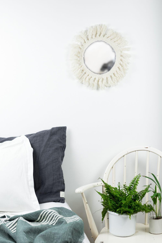 20 minuten diy quickie: boho spiegel selber machen | pinterest | diy