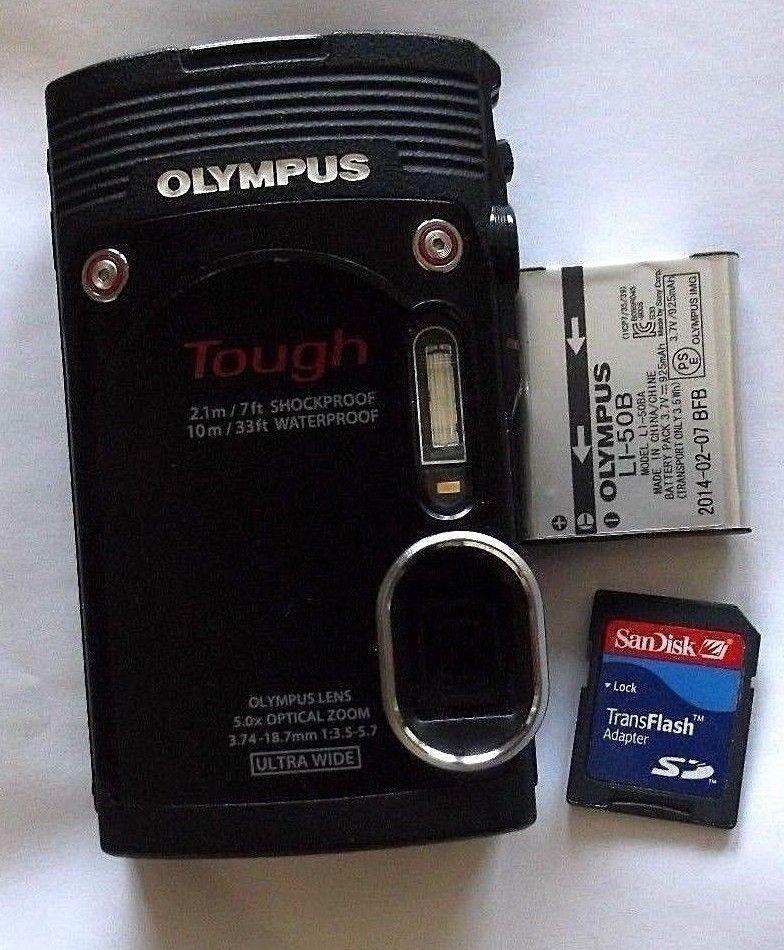 Details about Olympus Stylus Tough TG-870 16MP Digital