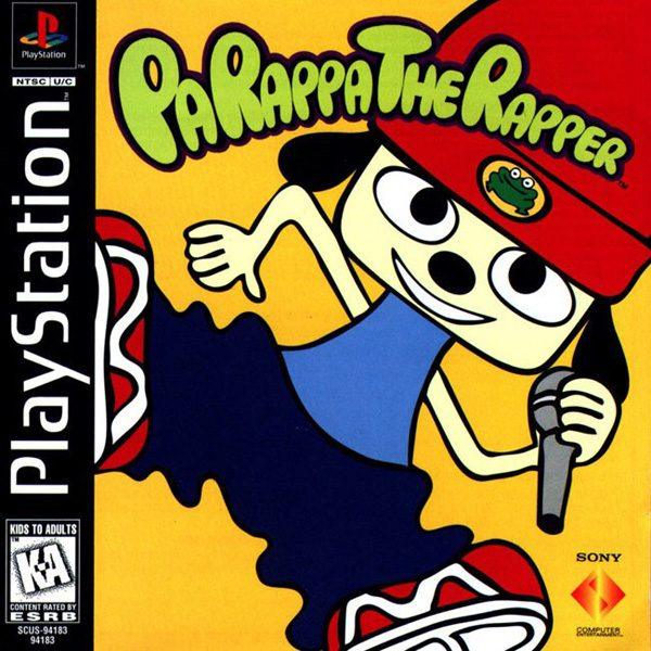Parappa The Rapper Playstation Games Playstation Rapper