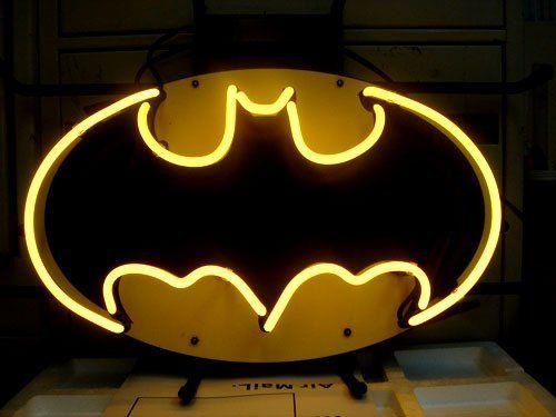 Batman Action Hero Beer Bar Neon Light Sign 16x11 by Long