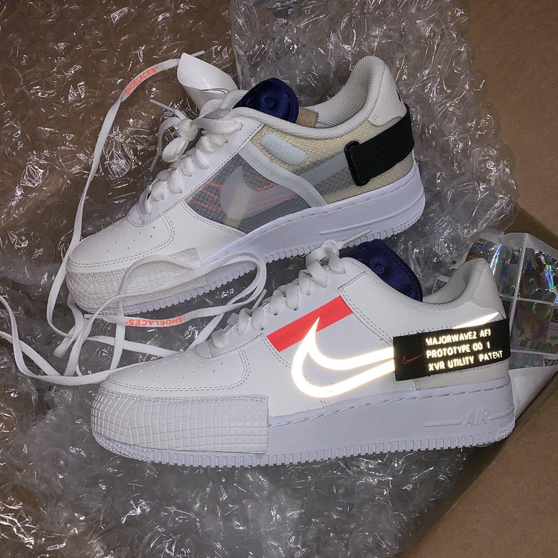 Aguanieve longitud crucero  Majorwavez XVR Air Force 1 — vintagewavez | Hype shoes, Fashion shoes  sneakers, Nike air shoes