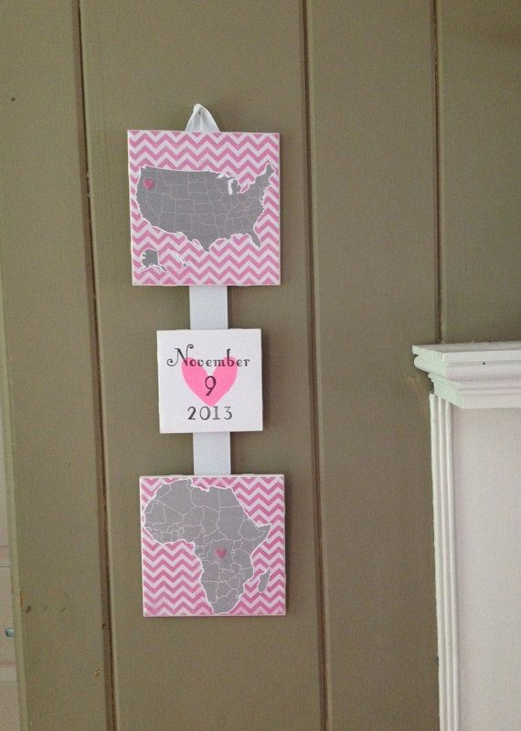 Adoption Plaque  Adoption Sign  Adoption Gift  by FaeriePoppins, $45.00