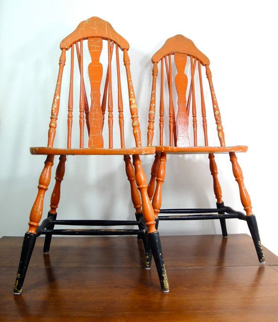 1930 S Kitchen Chairs Wooden Chair Makeover Painting