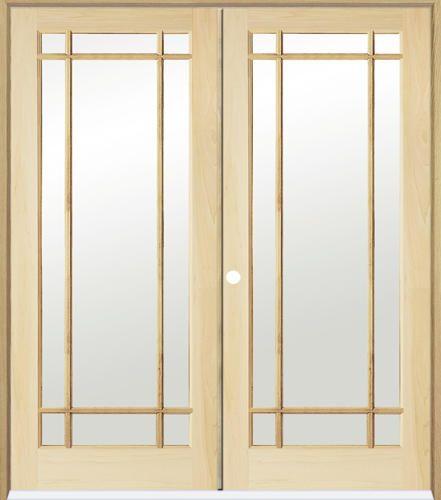 Mastercraft Primed Square Raised 2 Panel Prehung Interior Door At