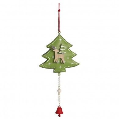 Christmas Tree Reindeer Decoration £2.95