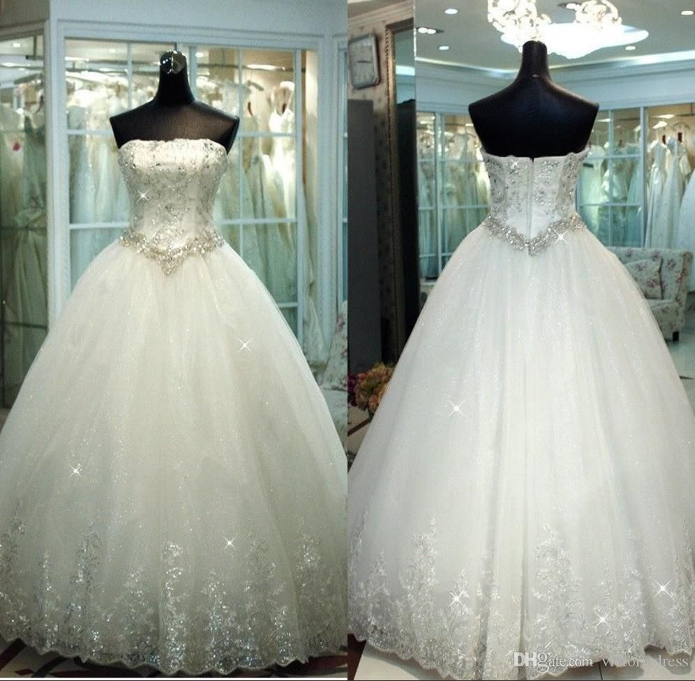 Awesome Ball Gown Wedding Dresses With Diamonds Contemporary ...