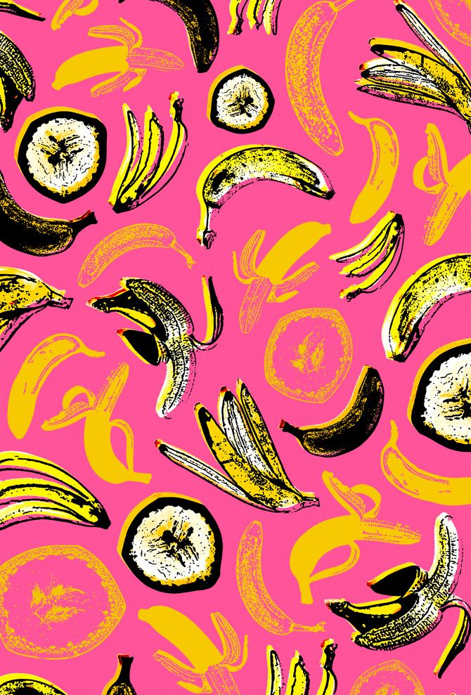 Pop Art inspired wallpapers illustrated using