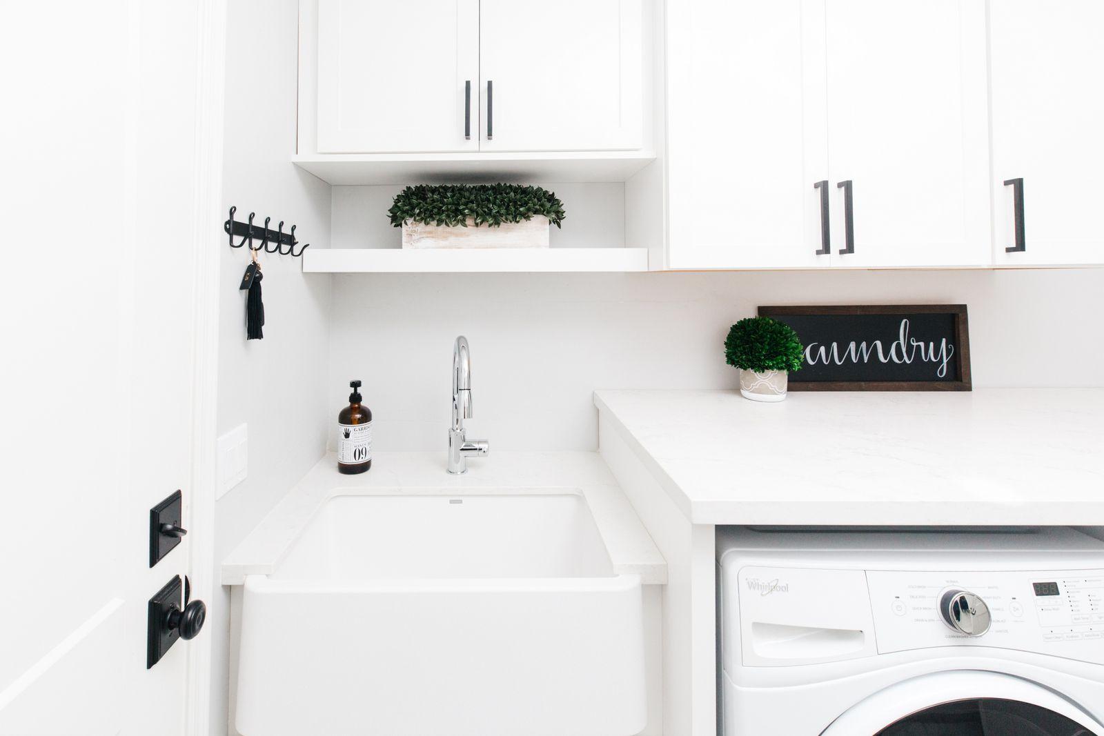 Blanco Ikon Silgranite White Sink Laundry White Laundry Rooms