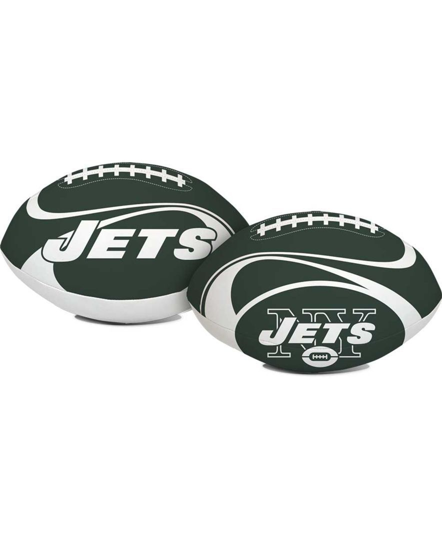 "Jarden Sports New York Jets 8"" Goal Line Softee Football"