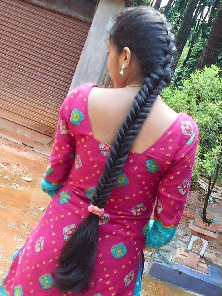 Pin by Danny Man M on LONG HAIR BRAiDS Indian Streets ...