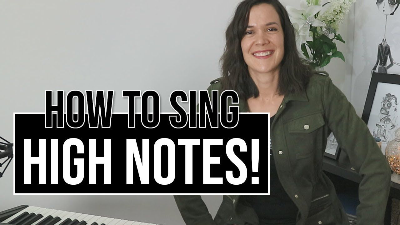 How To Sing High Notes YouTube in 2020 Music tutorials