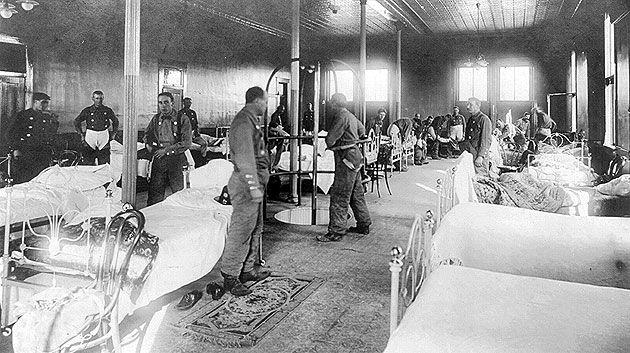 Spanish Flu Pandemic: 1918.