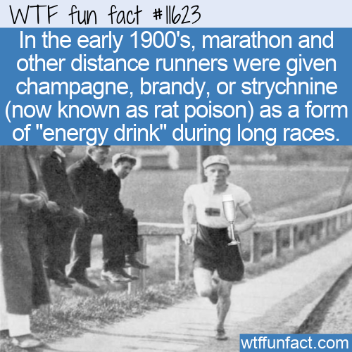 WTF Fun Fact - Champagne And Rat Poison For Energy