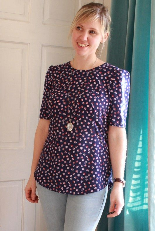 058071161467e Becca s Orla top - Sewing pattern by Tilly and the Buttons ...